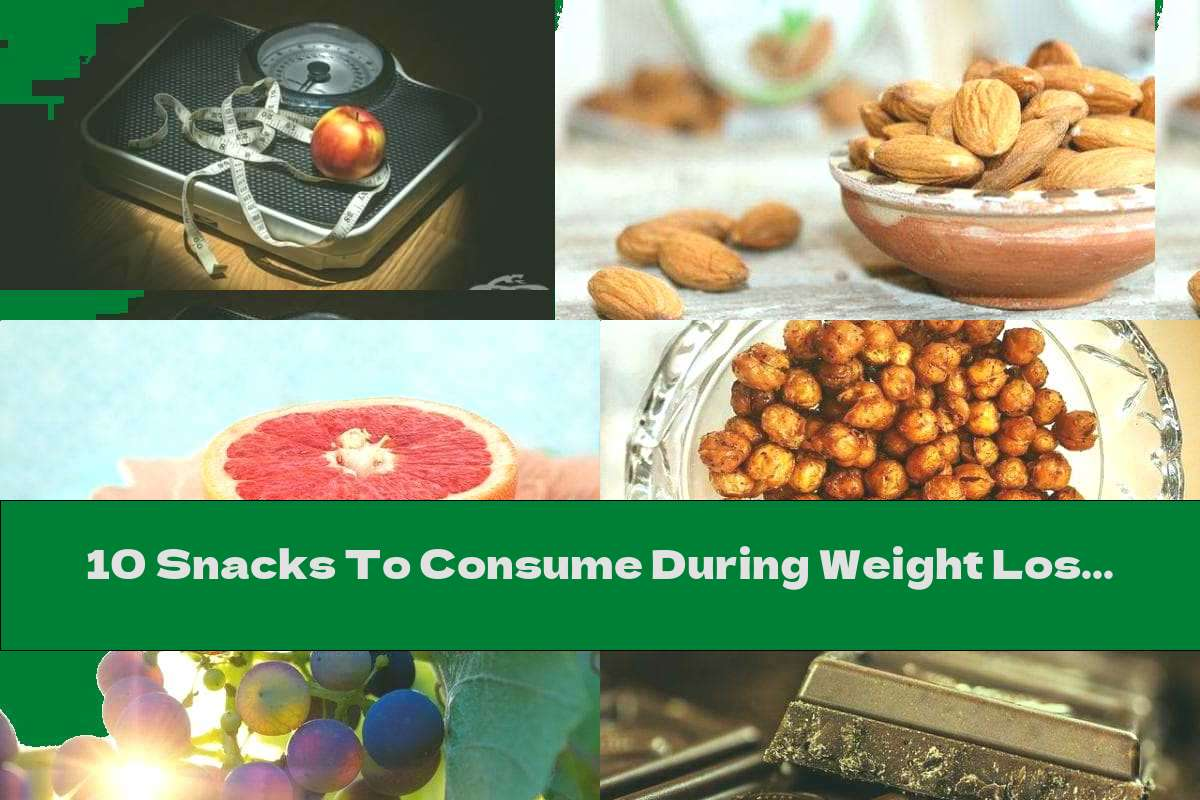 10 Snacks To Consume During Weight Loss