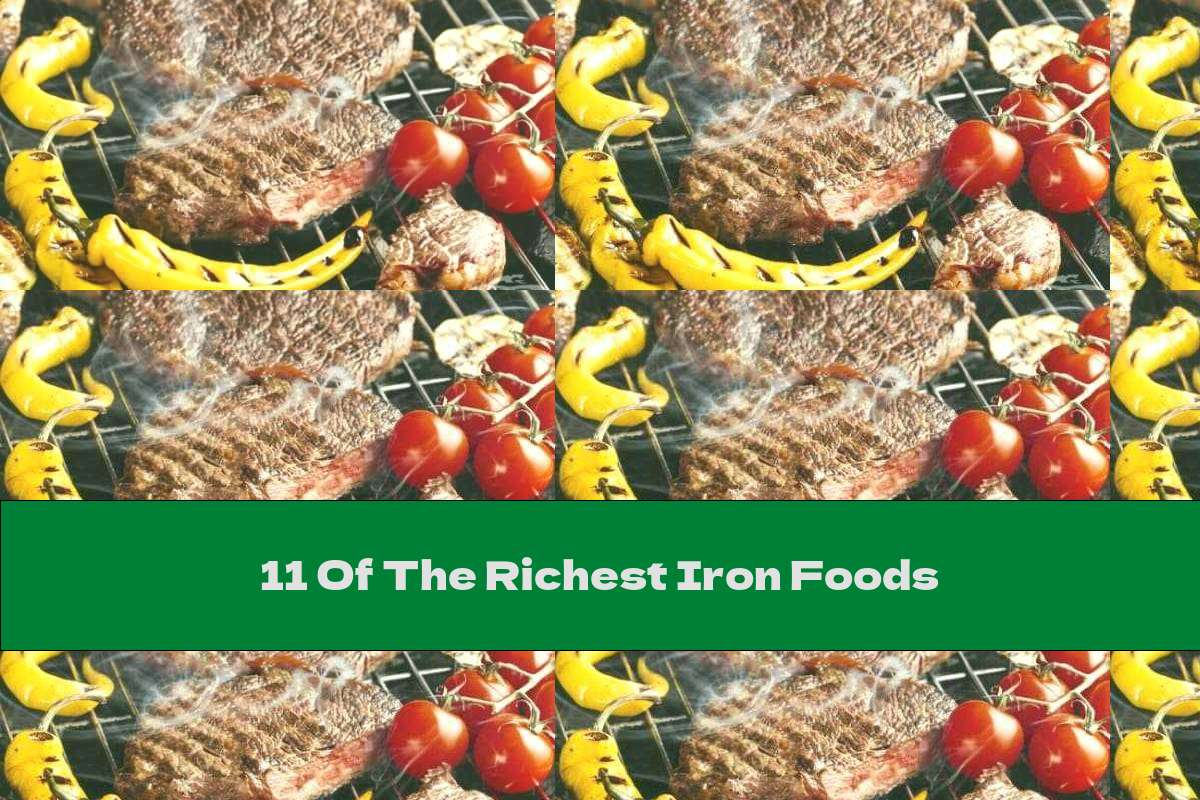 11 Of The Richest Iron Foods