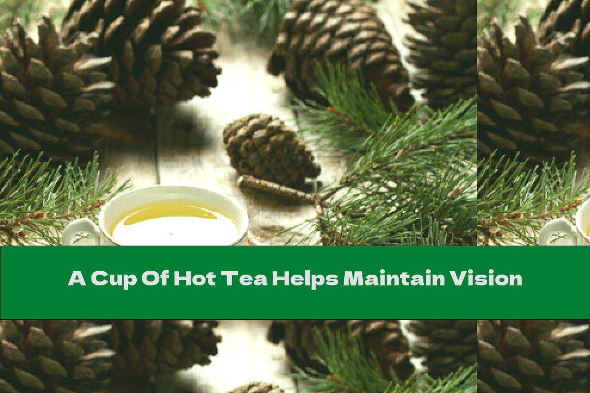 A Cup Of Hot Tea Helps Maintain Vision
