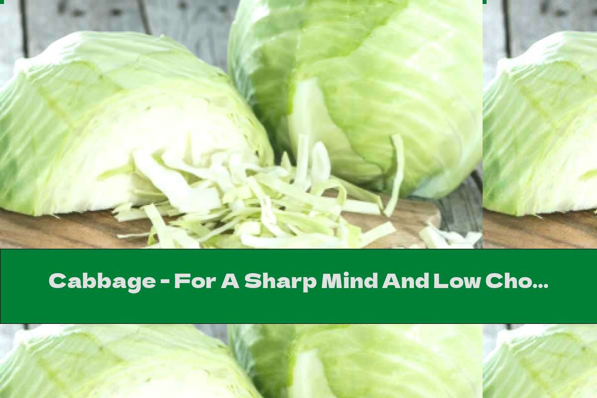 Cabbage - For A Sharp Mind And Low Cholesterol