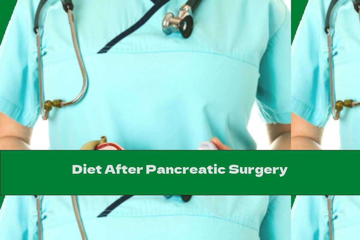 Diet After Pancreatic Surgery