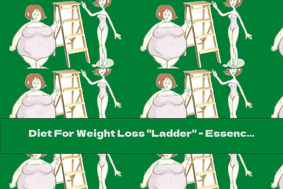 """Diet For Weight Loss """"Ladder"""" - Essence, Stages, Advantages And Disadvantages"""