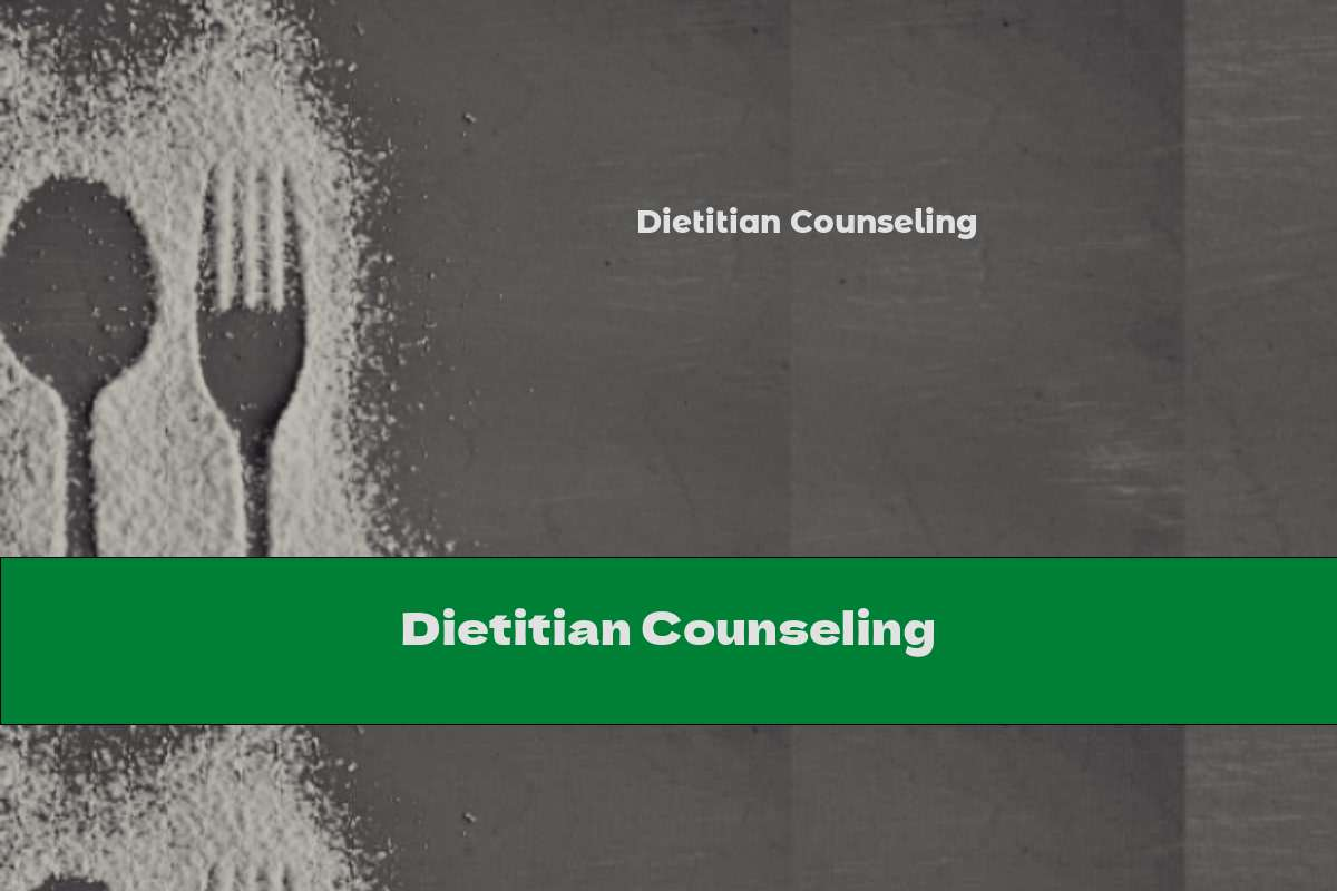 Dietitian Counseling