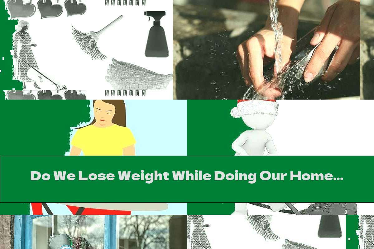 Do We Lose Weight While Doing Our Homework?