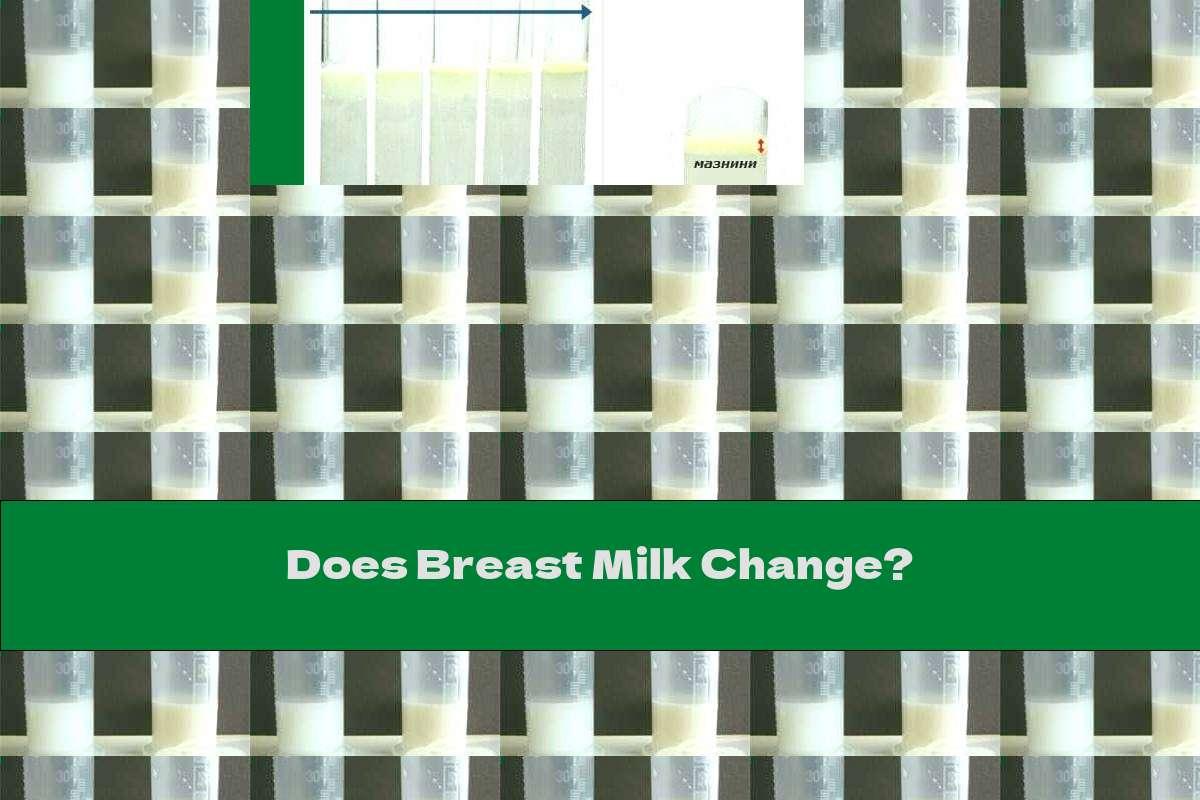 Does Breast Milk Change?