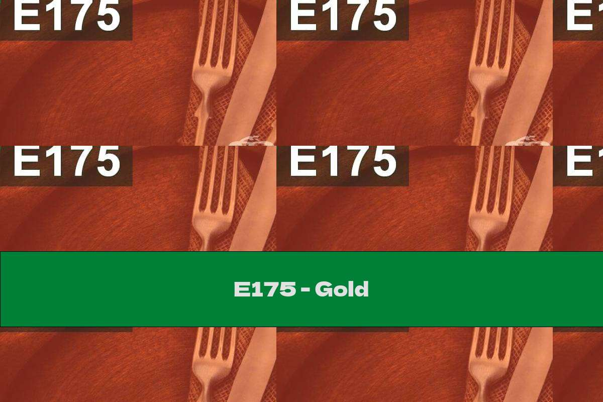 E175 - Gold
