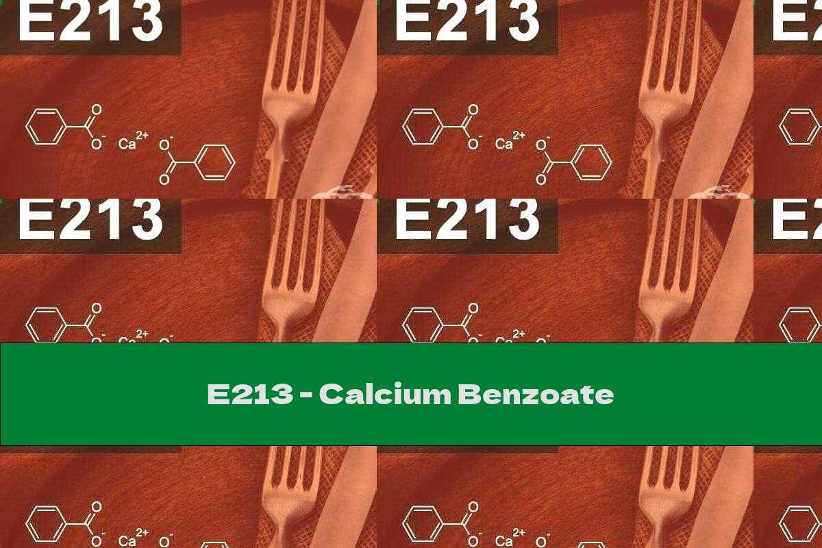 E213 - Calcium Benzoate