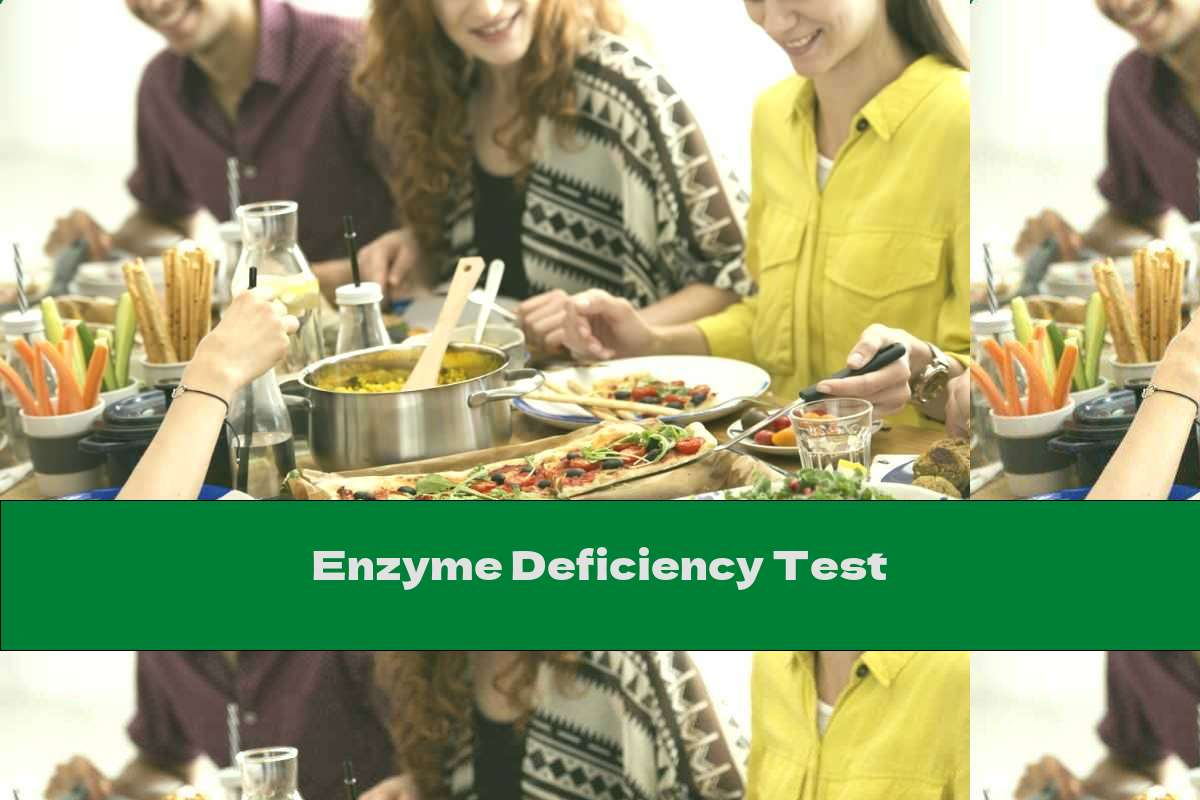 Enzyme Deficiency Test