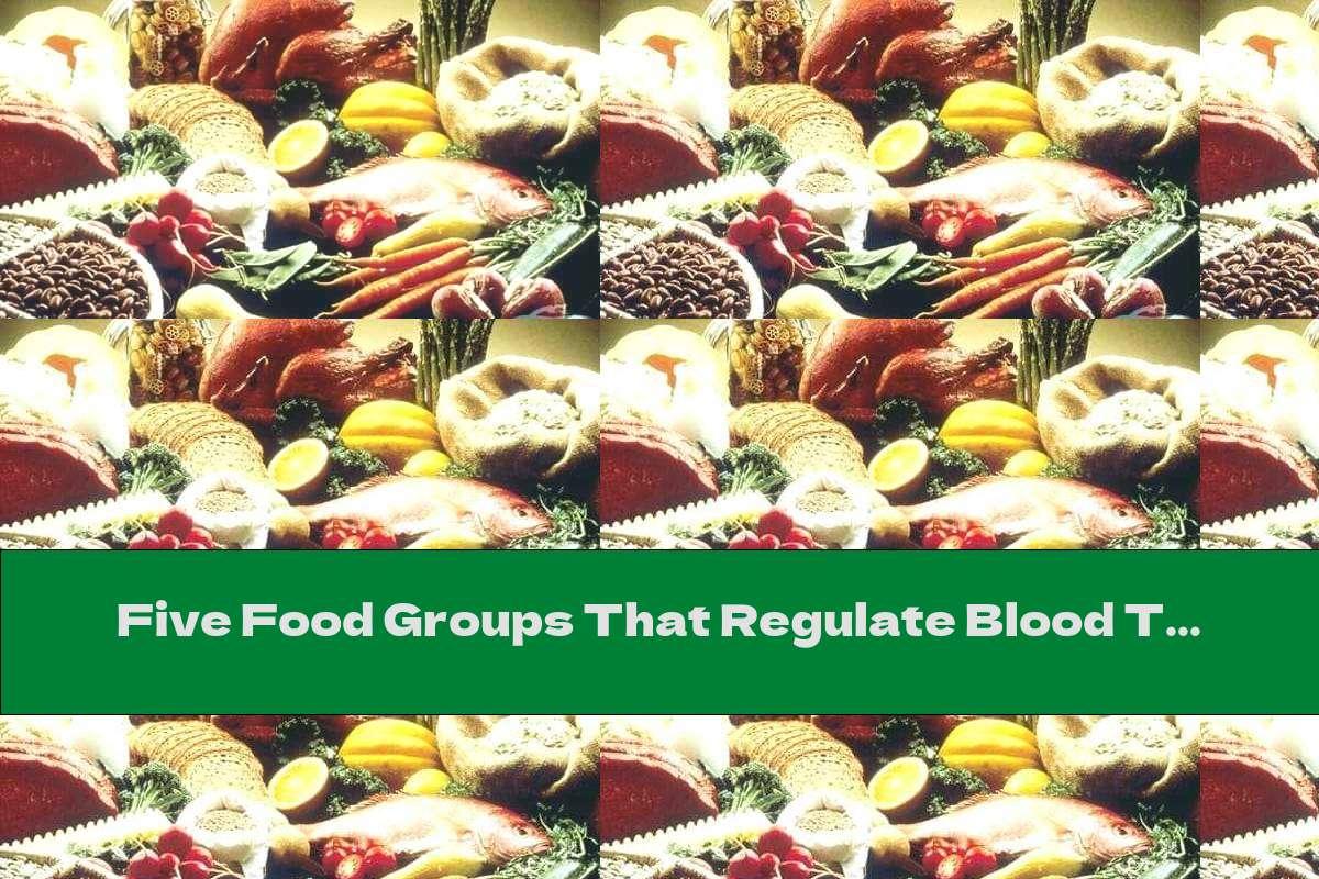Five Food Groups That Regulate Blood Triglyceride Levels