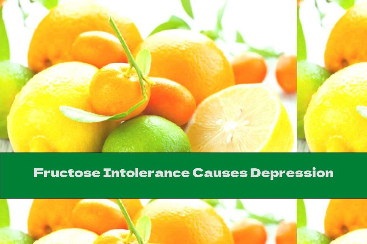 Fructose Intolerance Causes Depression