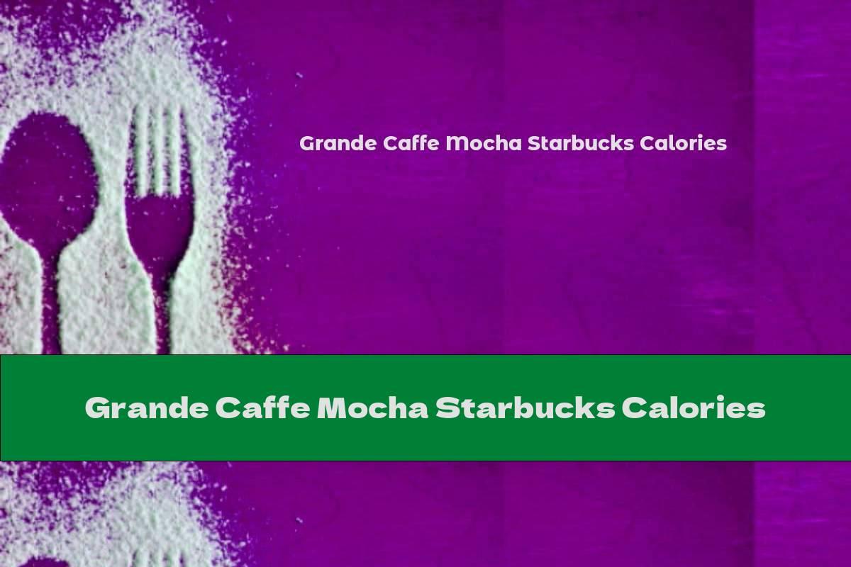 Grande Caffe Mocha Starbucks Calories