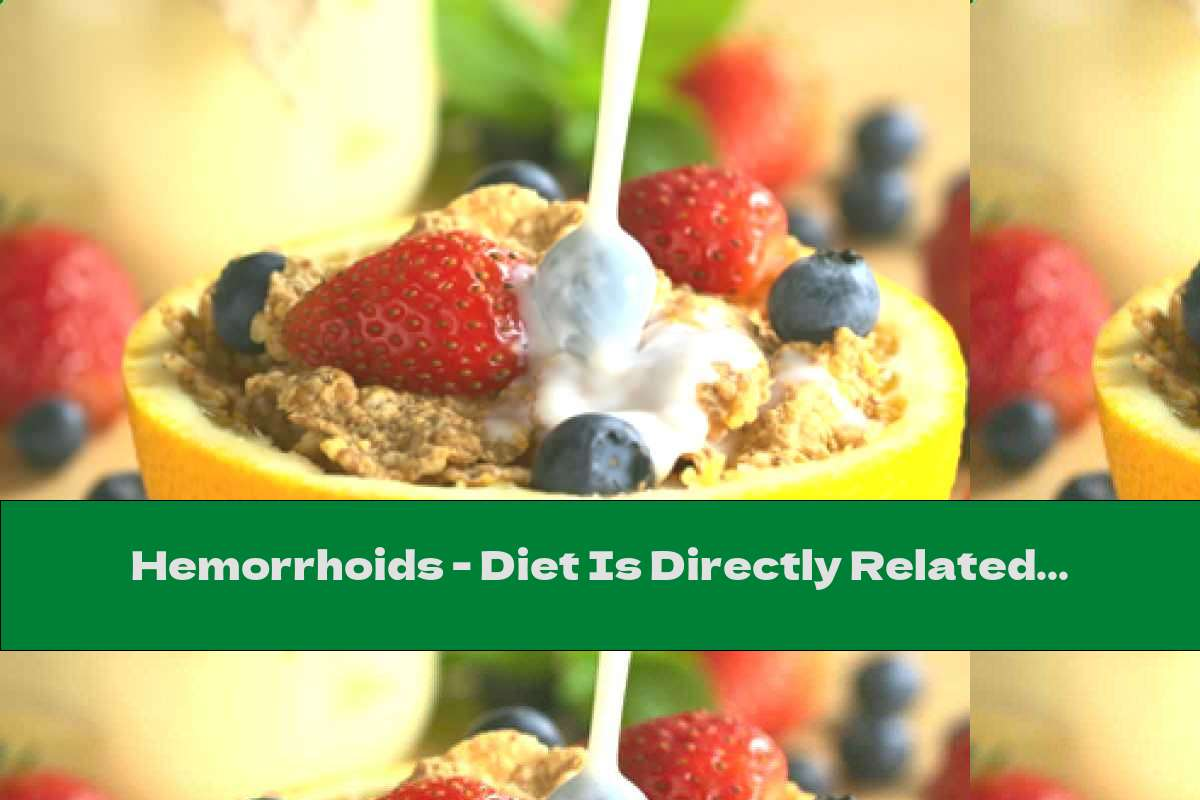 Hemorrhoids - Diet Is Directly Related To Their Appearance