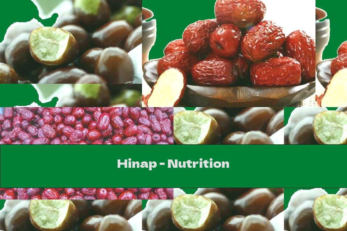 Hinap - Nutrition