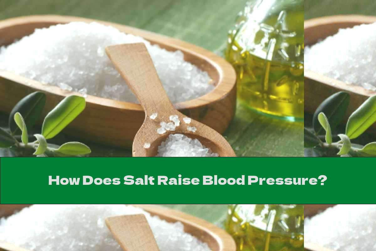 How Does Salt Raise Blood Pressure?