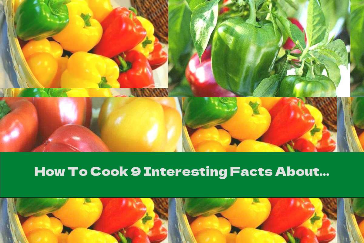 How To Cook 9 Interesting Facts About Bell Peppers - Recipe