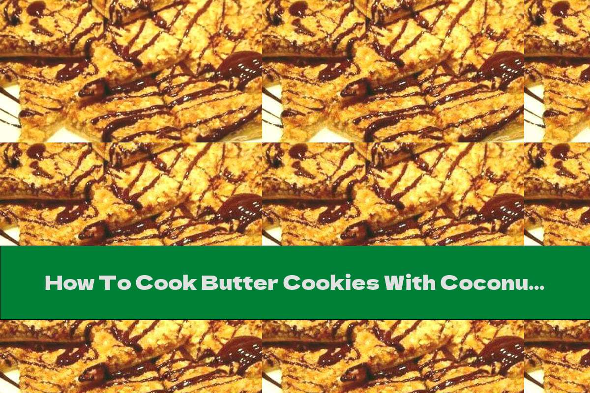 How To Cook Butter Cookies With Coconut, Apricot Jam And Walnuts - Recipe