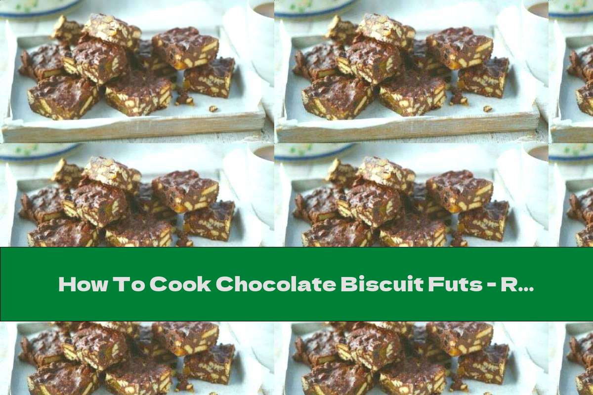 How To Cook Chocolate Biscuit Futs - Recipe