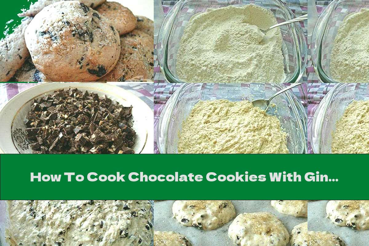 How To Cook Chocolate Cookies With Ginger Without Eggs - Recipe