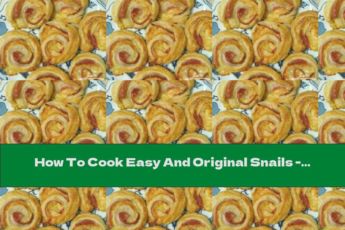 How To Cook Easy And Original Snails - Recipe