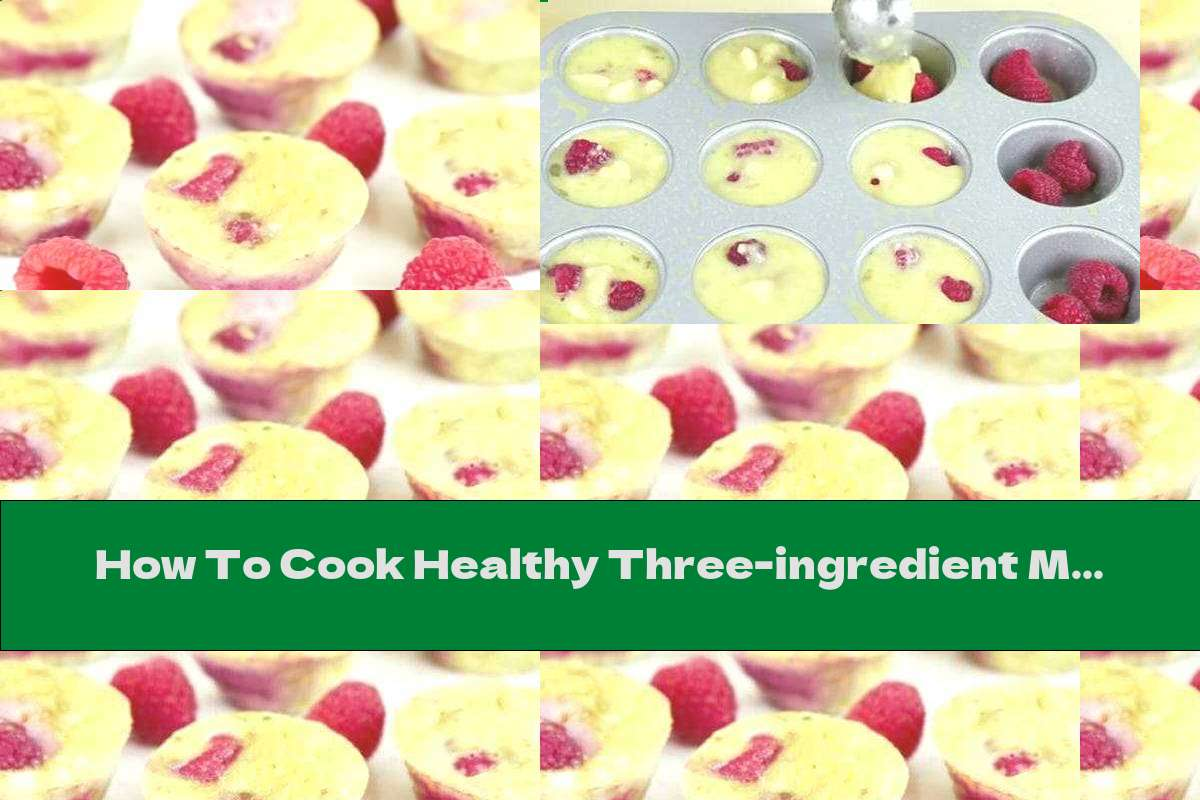How To Cook Healthy Three-ingredient Muffins - Recipe