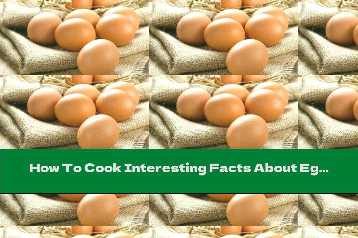 How To Cook Interesting Facts About Eggs - Recipe