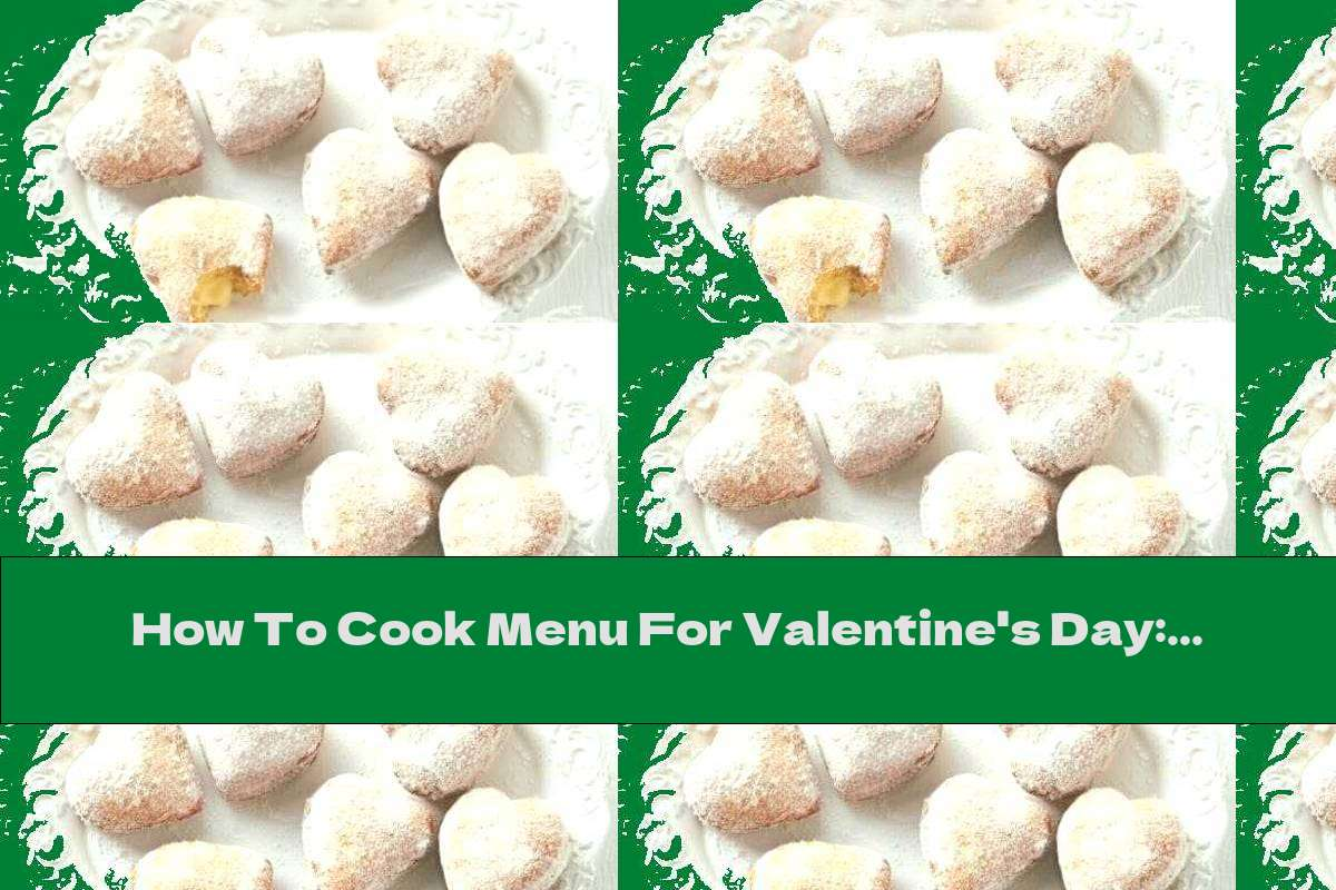 How To Cook Menu For Valentine's Day: Heart Donuts - Recipe