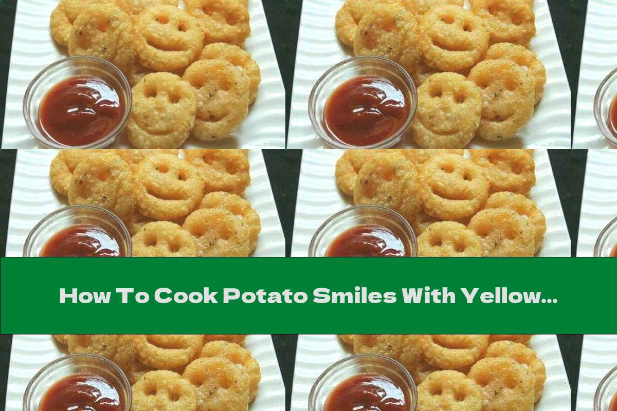 How To Cook Potato Smiles With Yellow Cheese And Oregano (no Added Starch) - Recipe