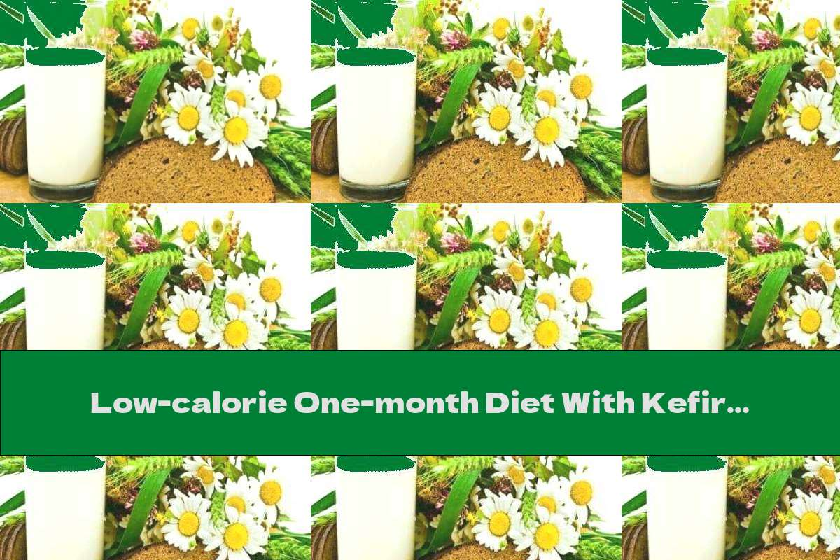 Low-calorie One-month Diet With Kefir And Black Bread