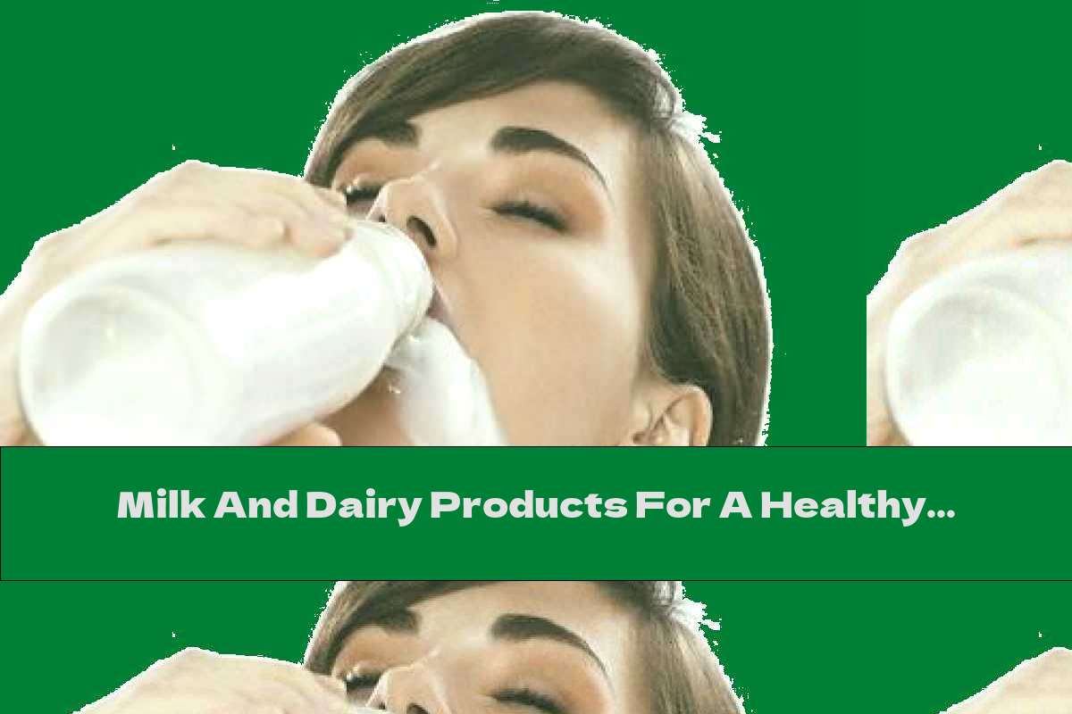 Milk And Dairy Products For A Healthy Heart