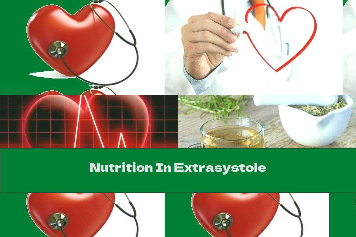 Nutrition In Extrasystole