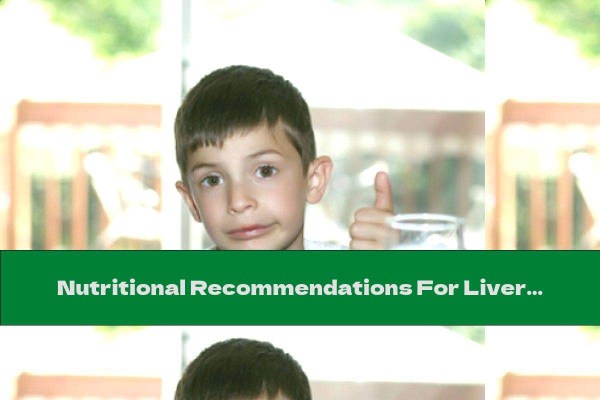 Nutritional Recommendations For Liver Cirrhosis