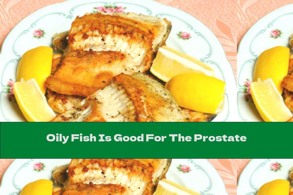 Oily Fish Is Good For The Prostate
