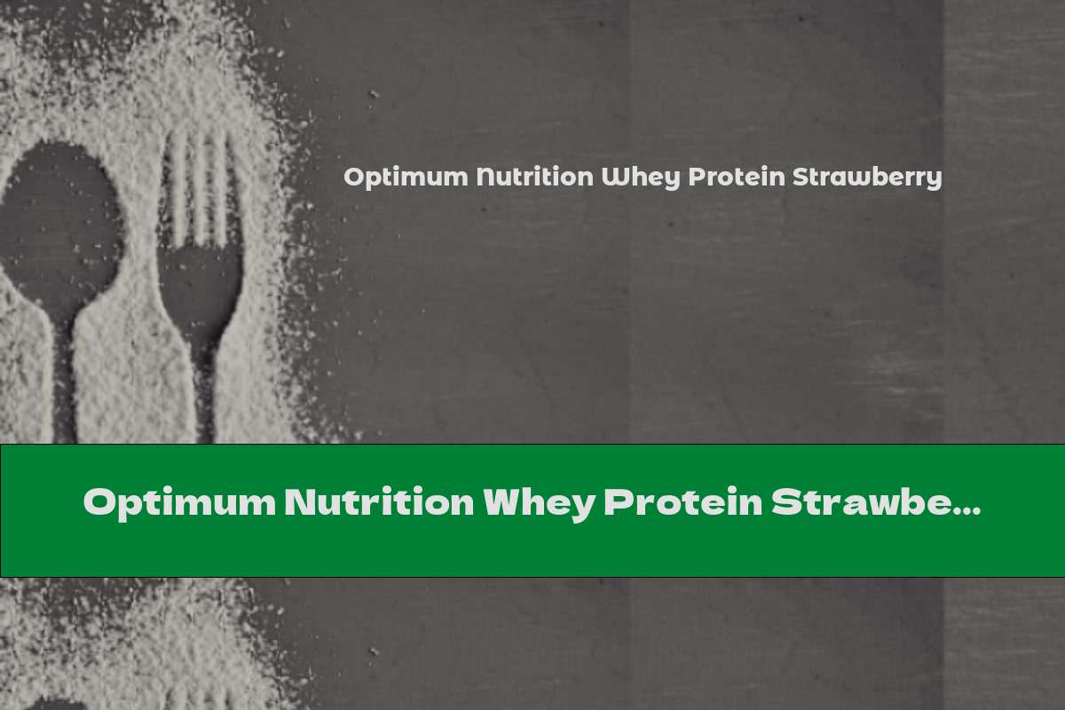 Optimum Nutrition Whey Protein Strawberry