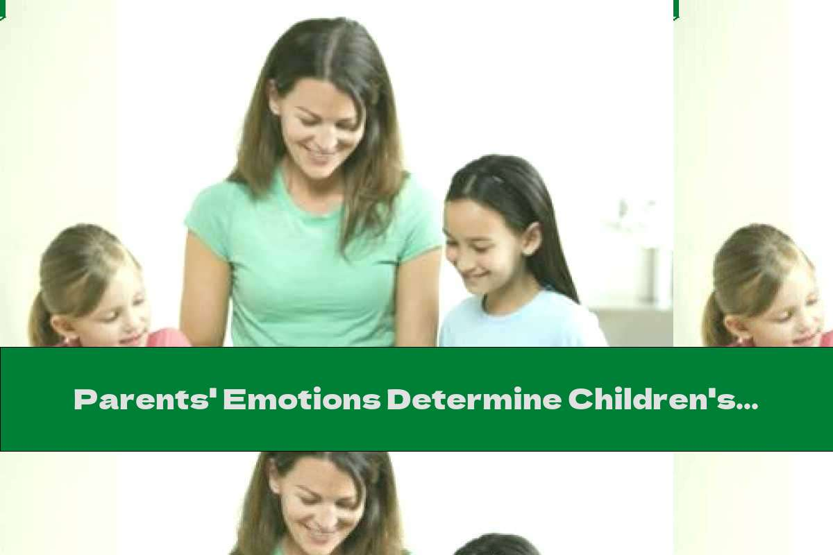 Parents' Emotions Determine Children's Eating Habits