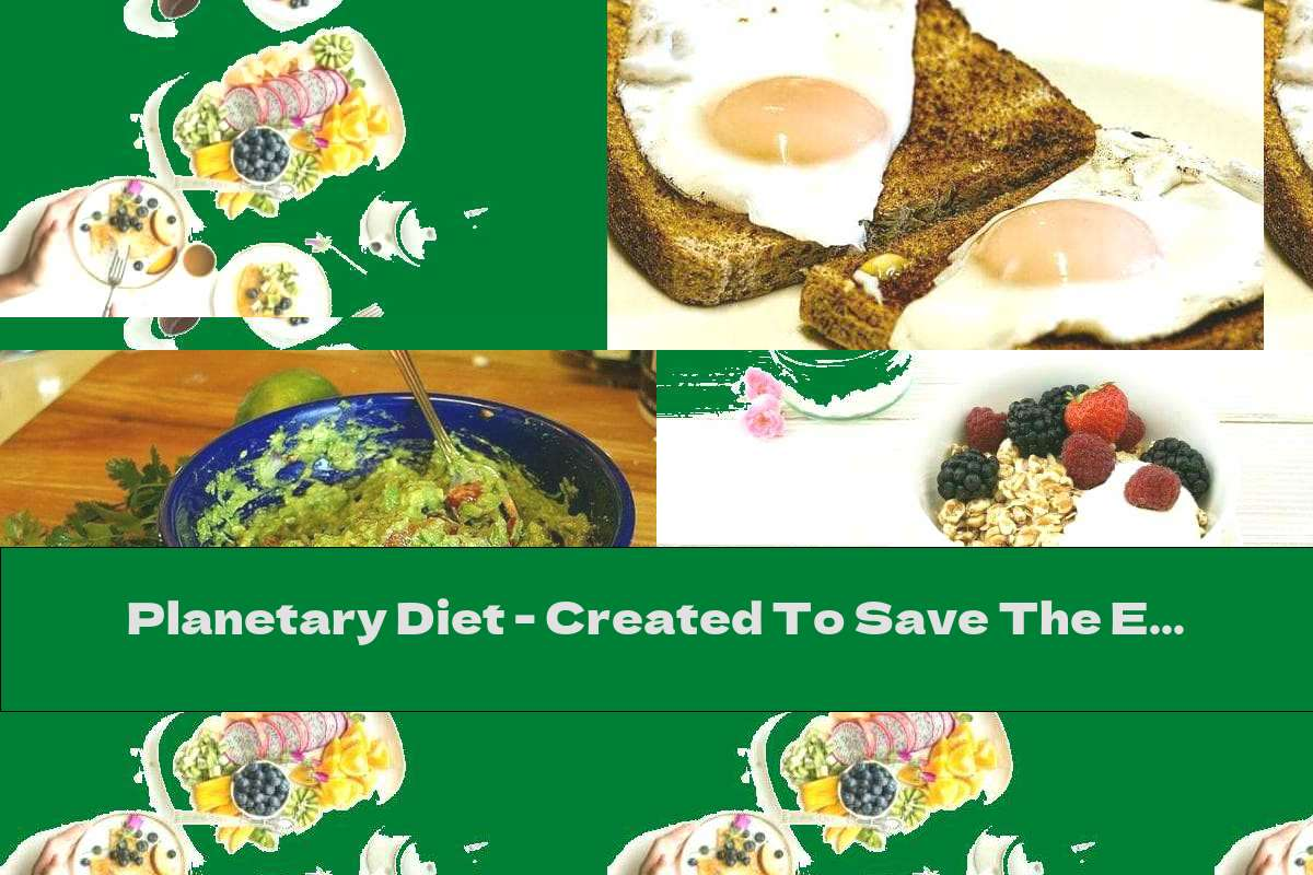 Planetary Diet - Created To Save The Earth