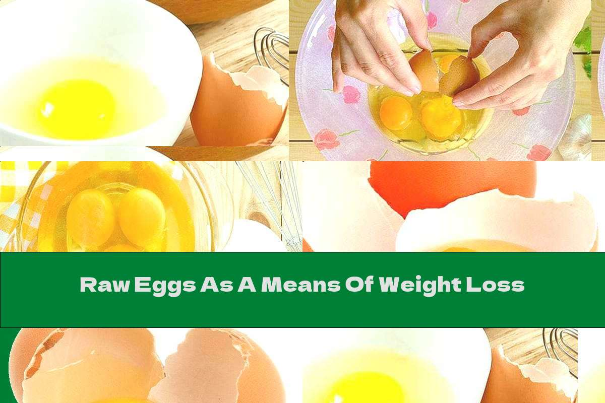Raw Eggs As A Means Of Weight Loss