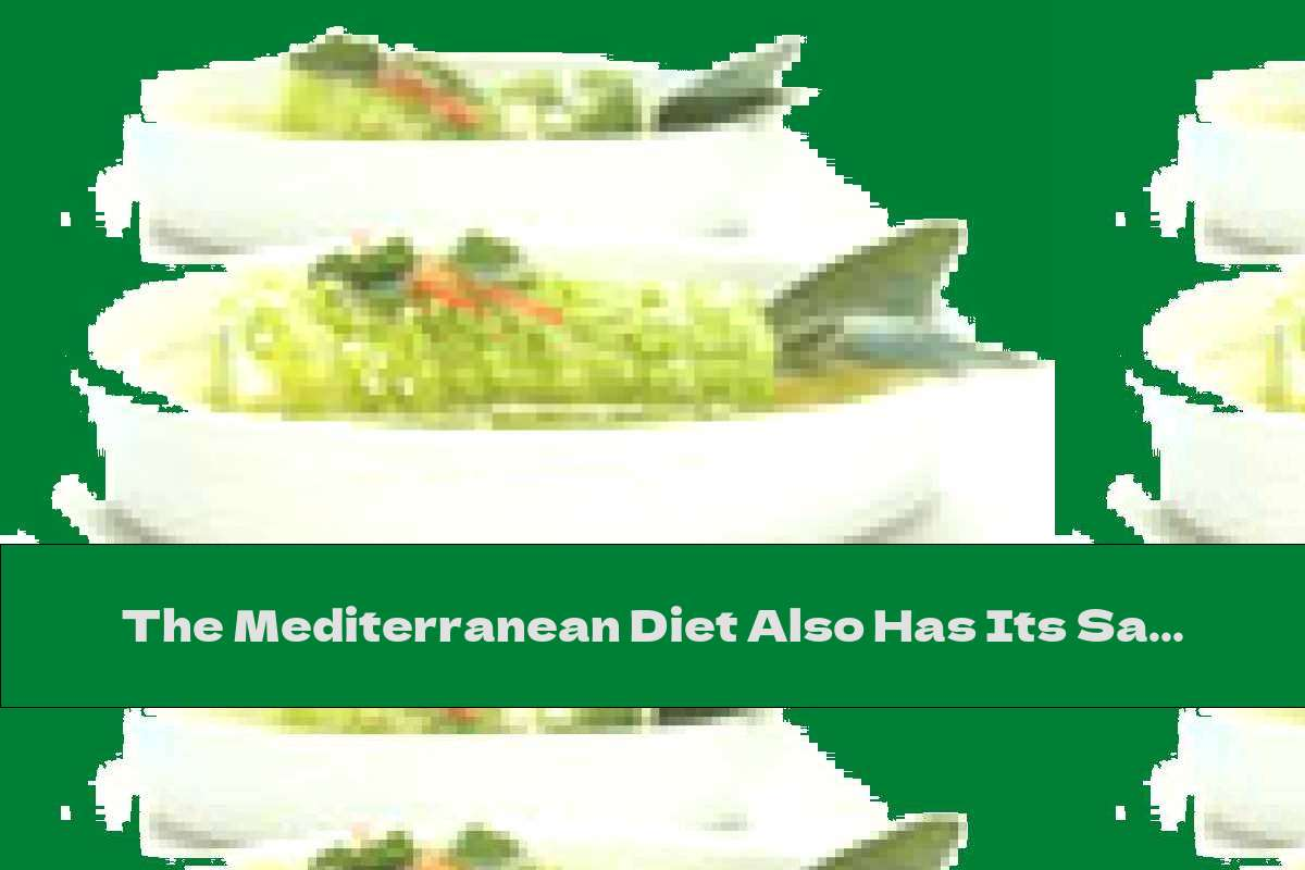 The Mediterranean Diet Also Has Its Say In Americans