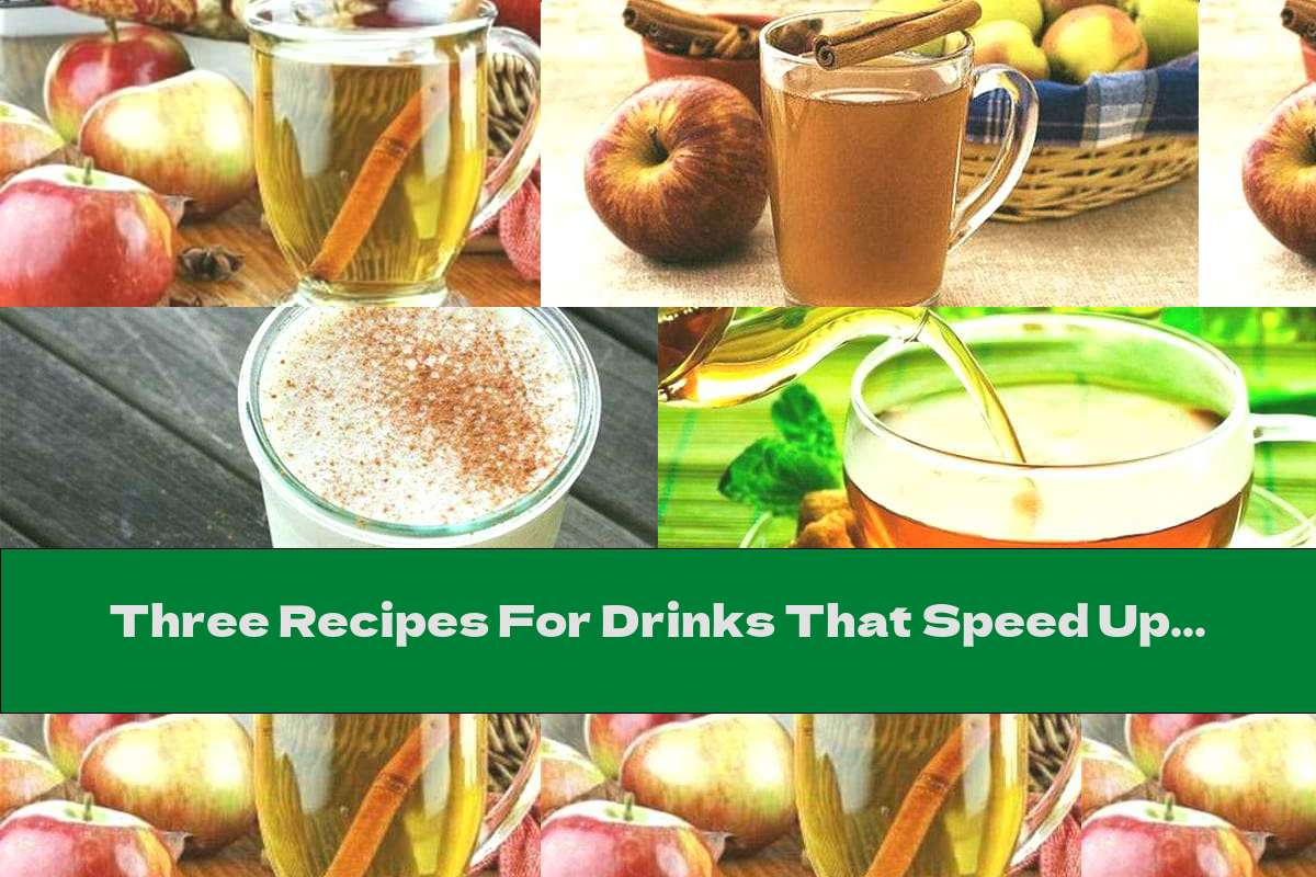 Three Recipes For Drinks That Speed Up Metabolism