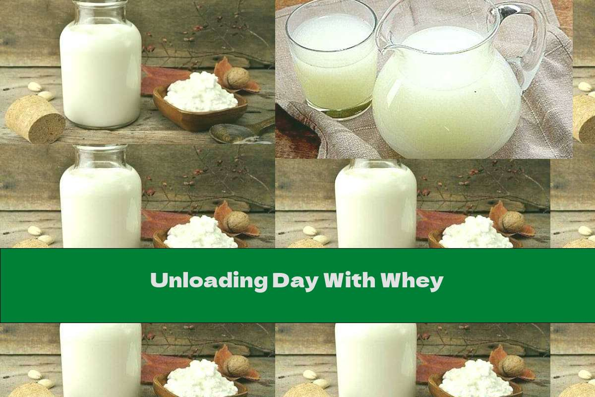 Unloading Day With Whey