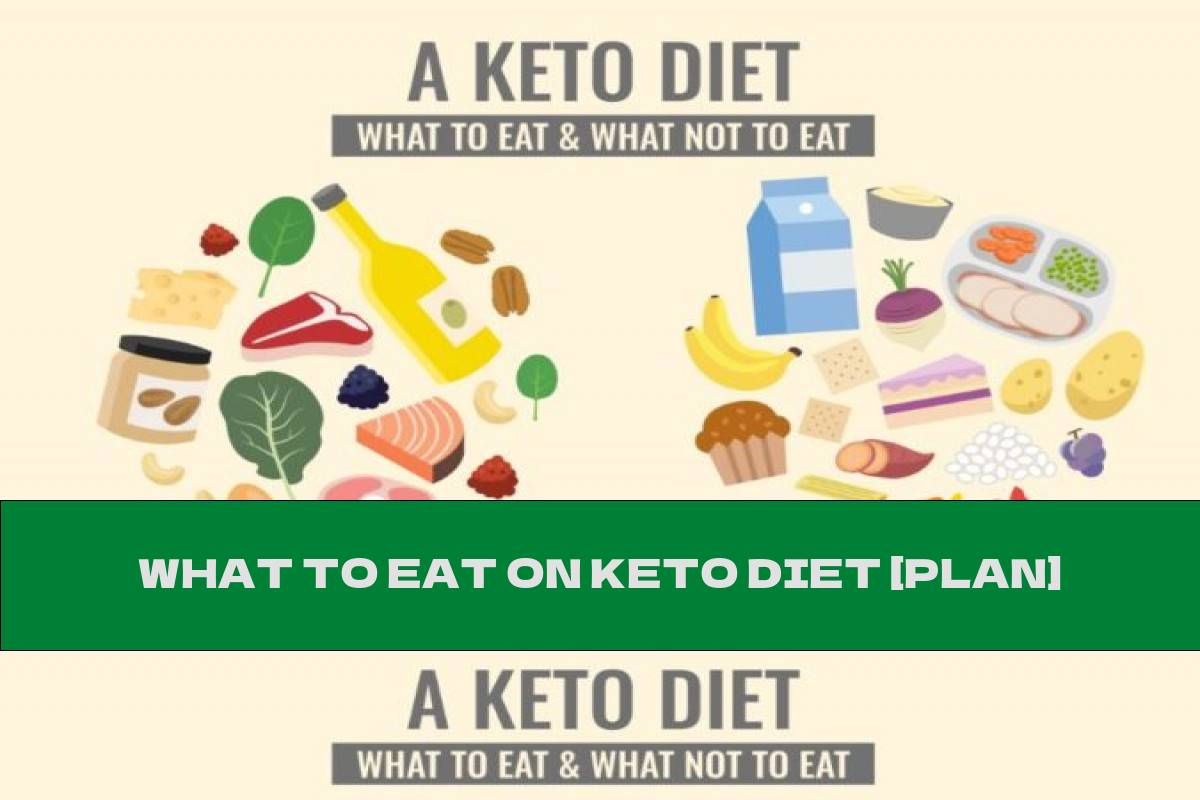 WHAT TO EAT ON KETO DIET [PLAN]