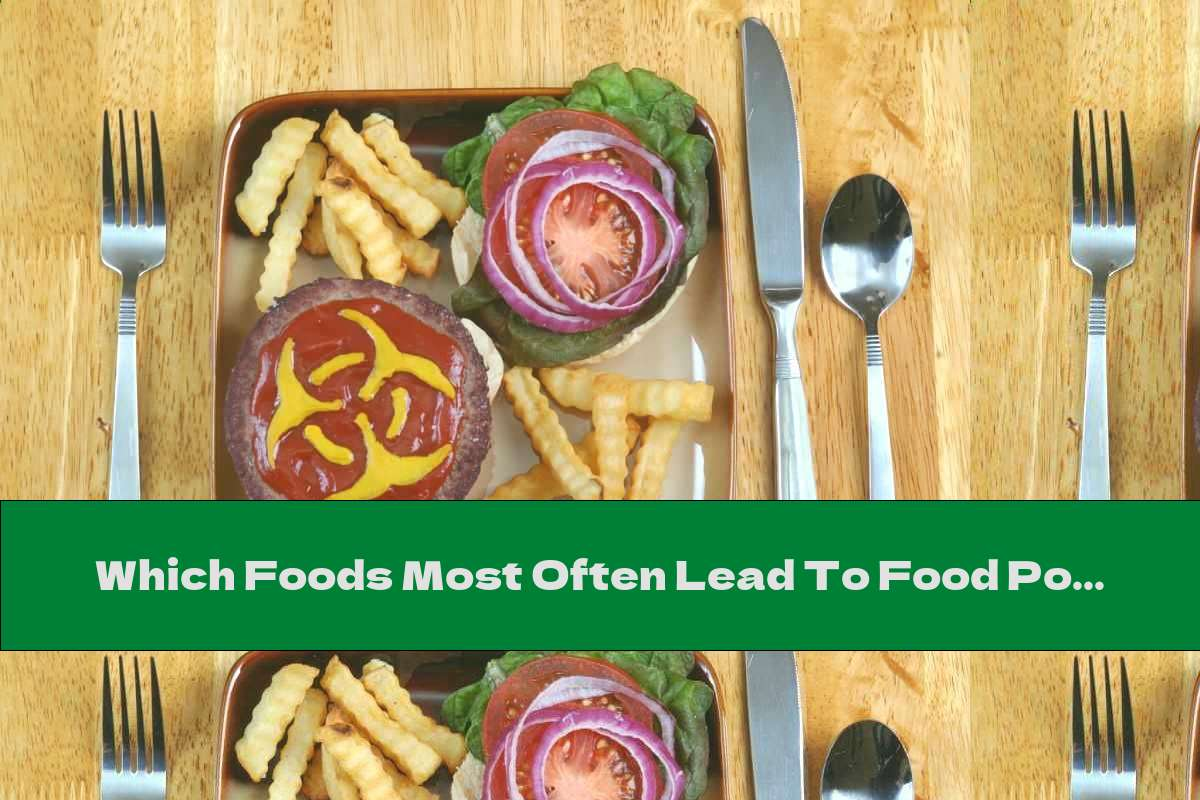 Which Foods Most Often Lead To Food Poisoning?