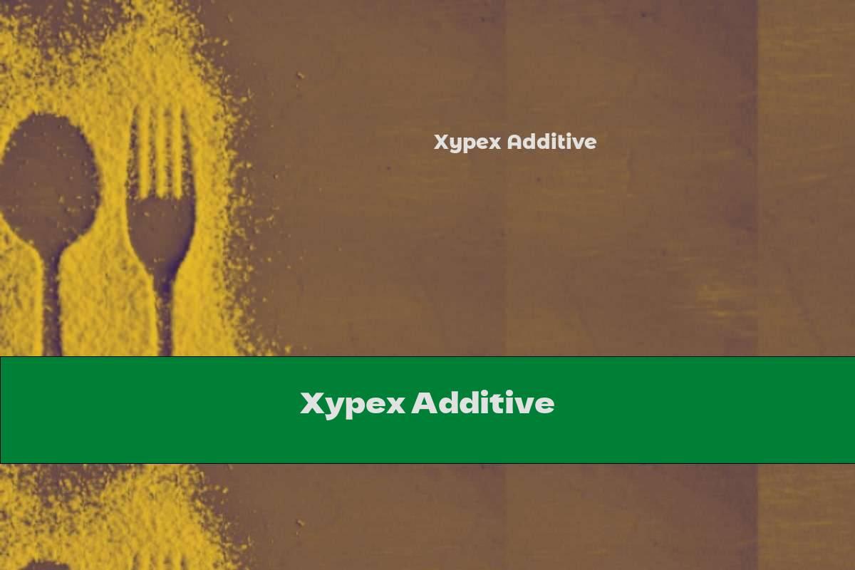 Xypex Additive